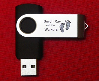USB flashdrive History of Burch Ray and the Walkers